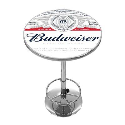 Trademark Global Budweiser Pub Table