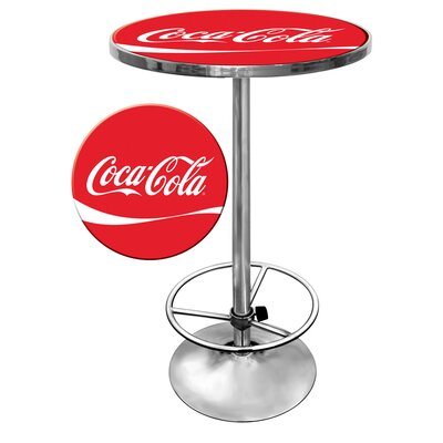 Trademark Global Coca Cola Pub Table
