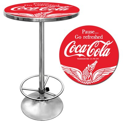 Trademark Global Coca Cola Pub Table III