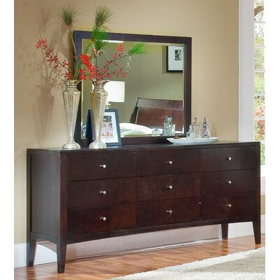 Home Image Harbor 9 Drawer Dresser with Mirror