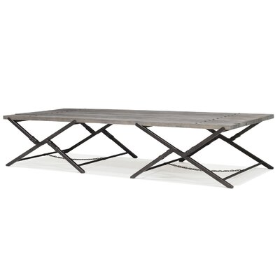 Sarreid Ltd Campaign Dining Table