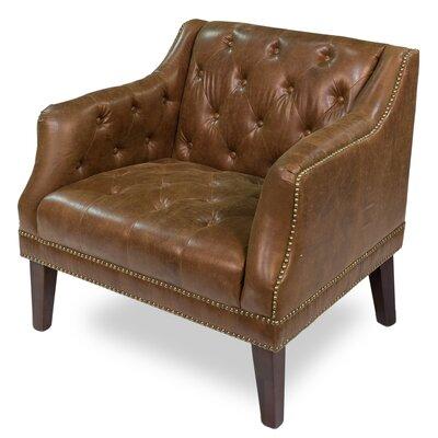 Sarreid Ltd Forbes Leather Club Chair