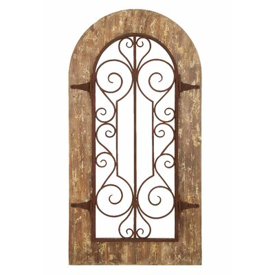Woodland Imports Panel Wall D 233 Cor Amp Reviews Wayfair