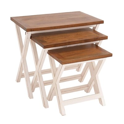 Woodland Imports 3 Piece Nesting Table