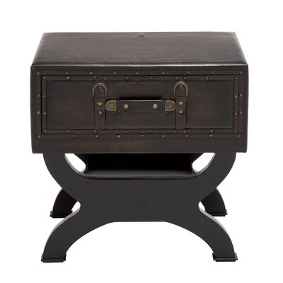 Woodland Imports Sleek End Table