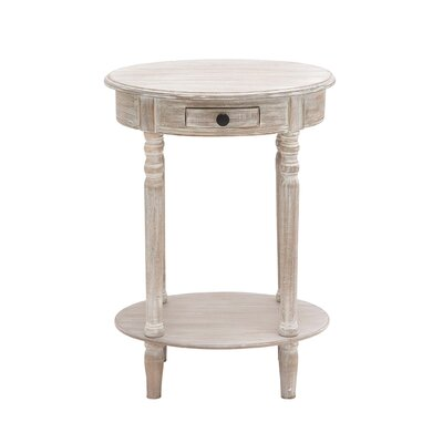Woodland Imports The Petite End Table