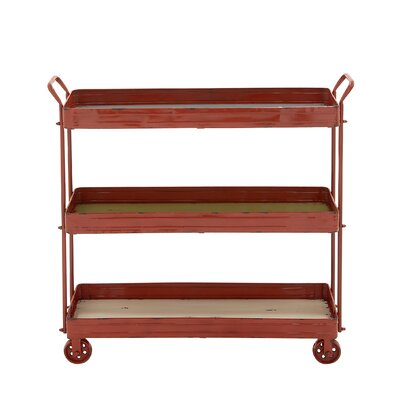 Woodland Imports Simply Distinctive Serving Cart