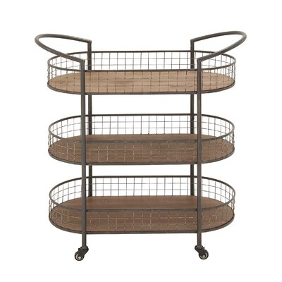 Woodland Imports Serving Cart