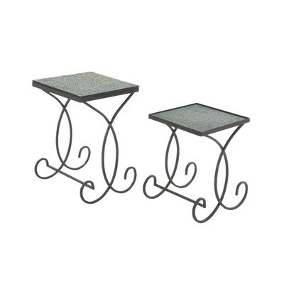 Woodland Imports 2 Piece End Table Set Image