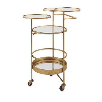 Woodland Imports Beth Kushnick Serving Cart