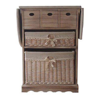 Woodland Imports Console Display Stand