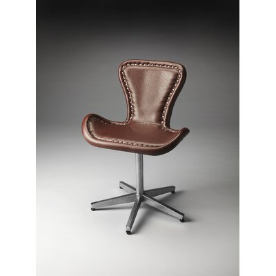 Butler Loft Midway Aviator Leather Swivel..