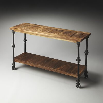 Butler Artifacts Fontainebleau Console Table