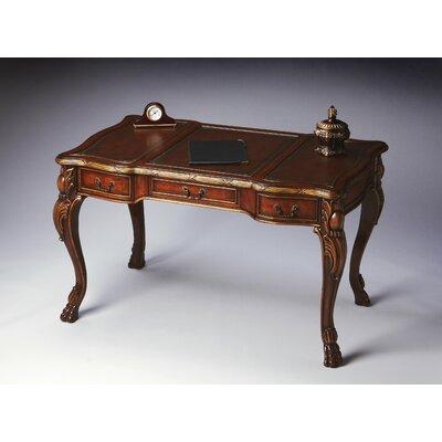 butler connoisseur's writing desk & reviews | wayfair