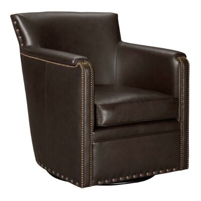 Leathercraft Vail Swivel Arm Chair