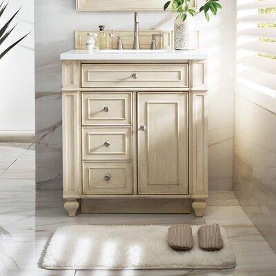 "Bathroom Vanity Sets alcott hill lambrecht 30"" single bathroom vanity set   wayfair"
