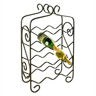 Grace Collection 12 Bottle Floor Wine Rack