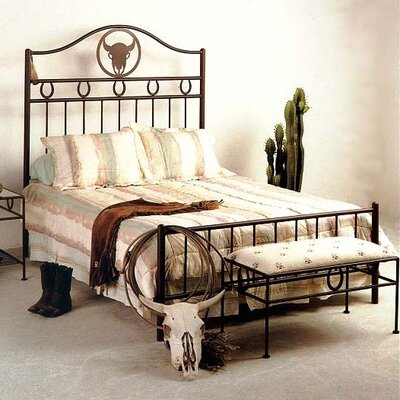 Grace Collection Frontier Wrought Iron Panel Cu..