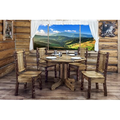 Montana Woodworks® Glacier Country Center Pedestal Dining Table