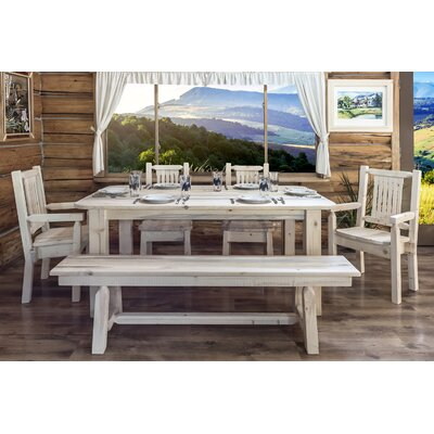 Montana Woodworks® Homestead 4 Post Dining Table