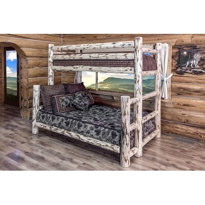 Montana Woodworks® Montana Twin over Full Bunk Bed
