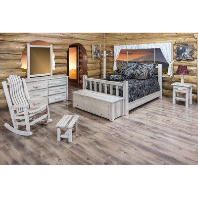 Montana Woodworks® Homestead Panel Customizable Bedroom Set