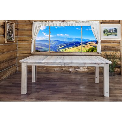 Montana Woodworks® Homestead 4 Post Extendable Dining Table