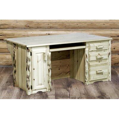 Montana Woodworks® Montana Executive's Office Desk