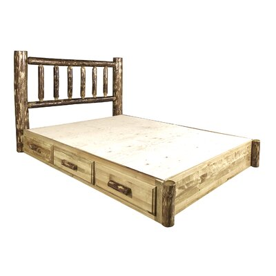 Montana Woodworks® Glacier Country Storage Platform Bed