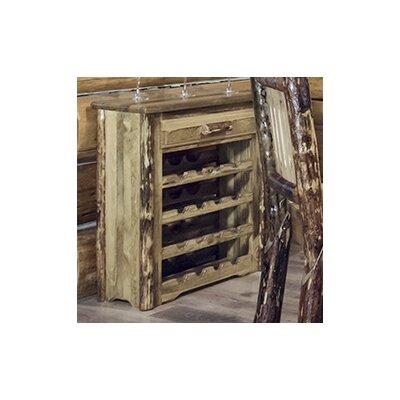 Montana Woodworks® Glacier Country 16 Bottle Floor Wine Rack