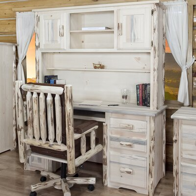 Montana Woodworks® Montana Desk with Hutch