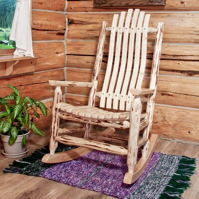 Montana Woodworks® Montana Log Rocking Chair