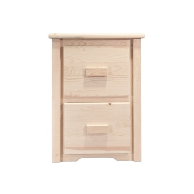 Montana Woodworks® Homestead File Cabinet 2 Drawer