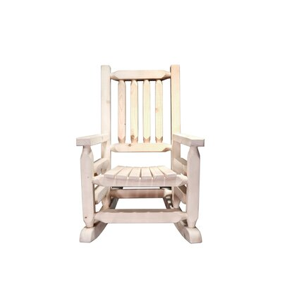 Montana Woodworks® Homestead Log Rocker Child&#..