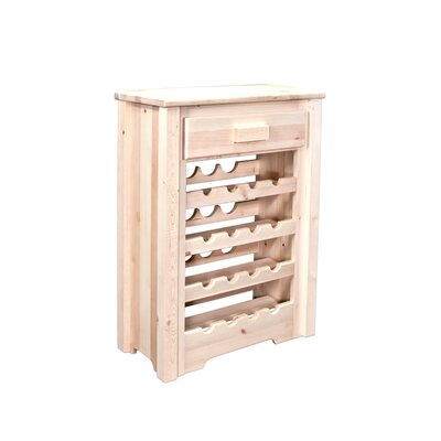 Montana Woodworks® Homestead 16 Bottle Floor Wine Rack