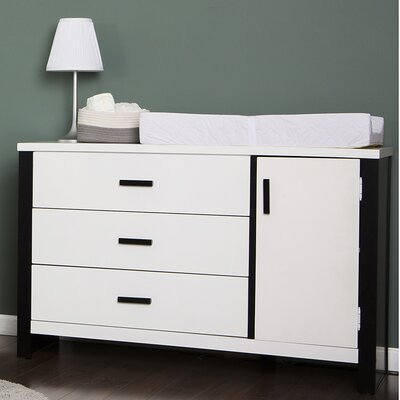 Dream On Me Cafeina 3 Drawer Dresser Combo