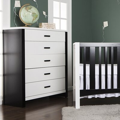 Dream On Me Cafeina 5 Drawer Dresser