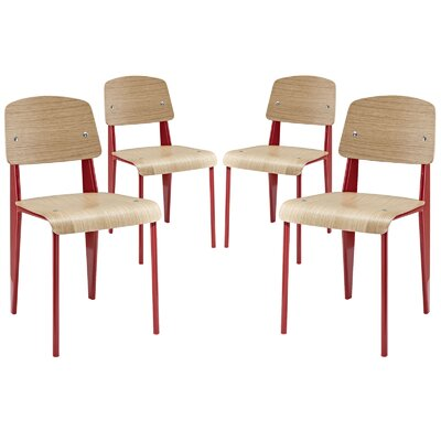 Modway Cabin Side Chair (Set of 4)