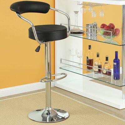 Modway Diner Adjustable Height Swivel Bar Stool (Set of 3)