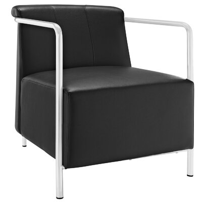 Modway Ebb Vinyl Lounge Chair