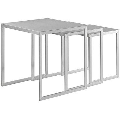 Modway 3 Piece Nesting Table