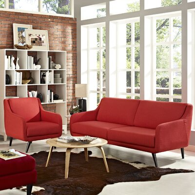 Modway Verve 2 Piece Living Room Set