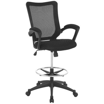 Modway Project Mid-Back Mesh Drafting Chair
