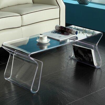 modway magazine coffee table & reviews | wayfair