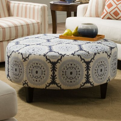 Bauhaus Anniston Asia Denim Round Cocktail Ottoman