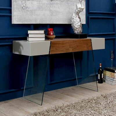 Casabianca Furniture IL Vetro Cabana Console Table