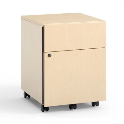 Steelcase 3-Drawer Mobile Classic Payback Box/File Pedestal