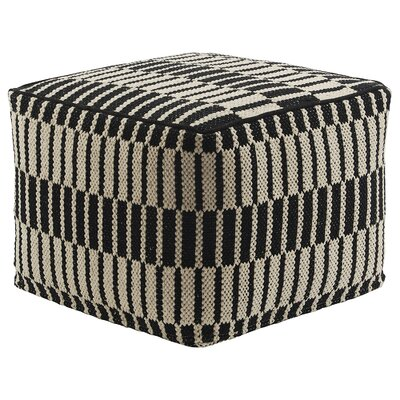 Jaipur Living National Geographic Ottoman