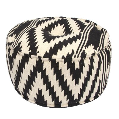 Jaipur Living Traditions Made Modern Pouf Ottoman