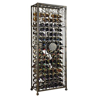 Astoria Grand Rudchester 96 Wine Floor Bottle Rack